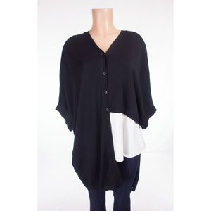 COS Tops - COS Oversized Asymmetrical Knit Tunic Top XS Roomy